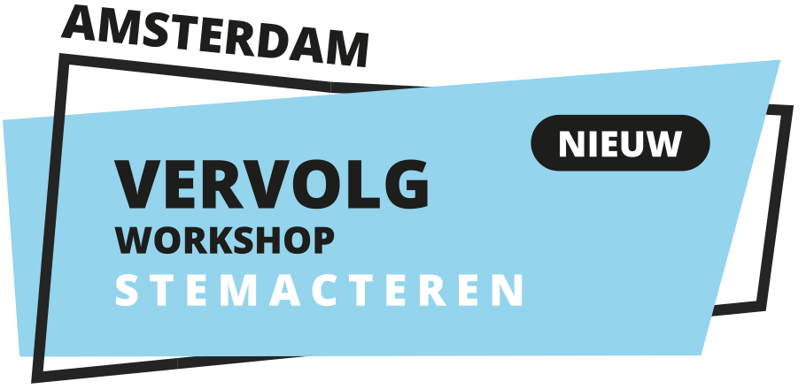 Vervolgworkshop Stemacteren (Amsterdam)