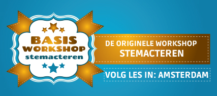 Basisworkshop stemacteren (Amsterdam)