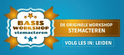 Basisworkshop stemacteren (Leiden)