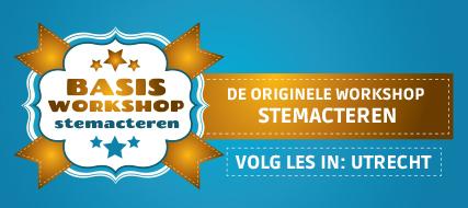 Basisworkshop stemacteren (Utrecht)