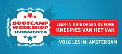 Bootcamp stemacteren en voice-overs (Amsterdam)