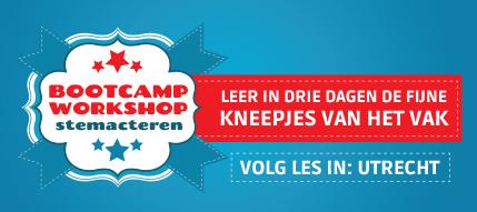 Bootcamp stemacteren en voice-overs (Utrecht)